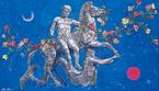 芸術の秋は、絹谷幸二 天空美術館でアフレスコ(壁画)体験を