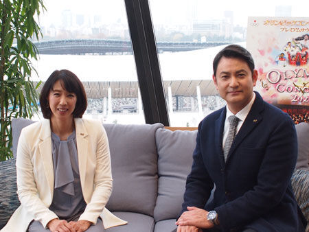 (画像左から)小谷実可子、藤本隆宏