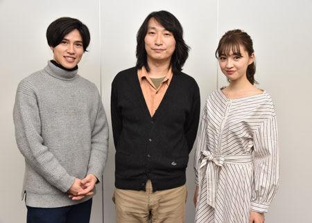 (画像左から)土屋神葉、糸井幸之介、上西星来