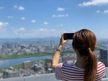 梅田スカイビル・空中庭園展望台
