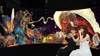 絹谷幸二 天空美術館で楽しむ、夏のアート体験