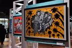 人気イラストレーターChocomooの大規模展示が原宿で開催中