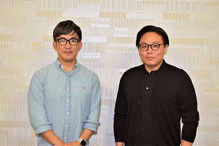 左から、人形遣い・吉田簑紫郎、三味線・鶴澤寛太郎