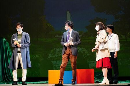 """柿澤勇人らが""""今""""を演じる『ハルシオン・デイズ 2020』上演中"""