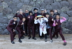 スカパラin 松江城、国宝で魅せた圧巻のステージ!さかなクン、宮本浩次も躍動!
