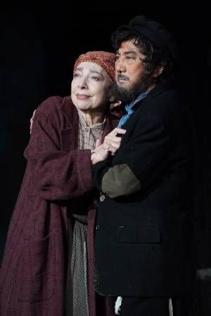 市村正親「奇跡でございます」 ミュージカル『屋根の上のヴァイオリン弾き』開幕