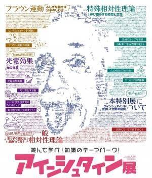 ノーベル賞受賞100年を記念した『アインシュタイン展』名古屋市科学館にて開催