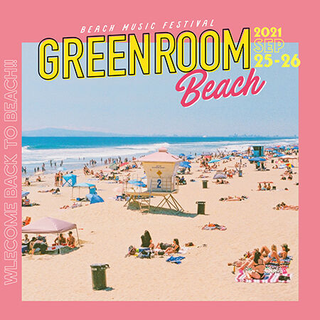 『GREENROOM BEACH』第2弾出演アーティスト&日割り発表!
