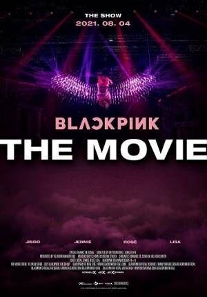 本国デビュー5周年を記念した初の映画「BLACKPINK THE MOVIE」が劇場公開!