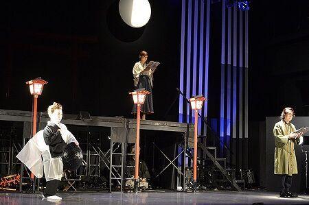 人気声優による朗読と能で描く陰陽師と鬼の世界 『KANAWA』開幕
