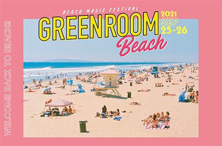 『GREENROOM BEACH』タイムテーブル&エリアマップ発表