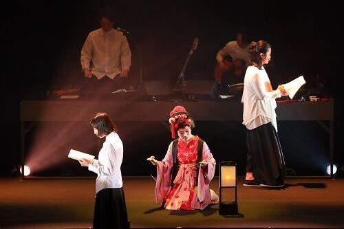 朗読×日本舞踊×生演奏。お七の必死で切ない恋が劇場を満たす
