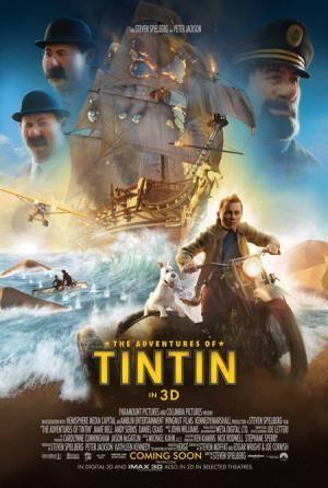 スピルバーグ初の3D映画『タンタンの冒険』新画像が解禁!