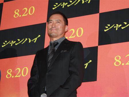 渡辺謙、新作『シャンハイ』を携えて舞台挨拶に登壇