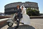 綾瀬はるか&藤木直人のウェディング写真がローマから到着!