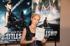 ハリウッド挑戦宣言も! 土屋アンナが『バトルシップ』日本語版キャストに