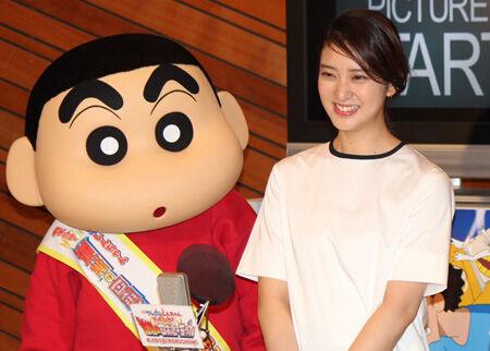 クレヨンしんちゃん、武井咲に「結婚しよっ!」