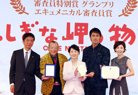 吉永小百合『ふしぎな岬の物語』2冠快挙を報告