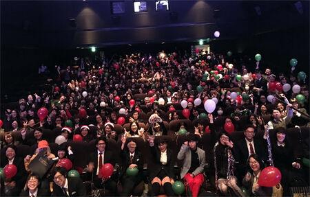 『キングスマン』上映会にファン300人が集結