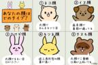 """イヌ顔「プライド高」ウサギ顔「センチメンタル」……似ている動物に見る""""アナタの性格""""診断"""