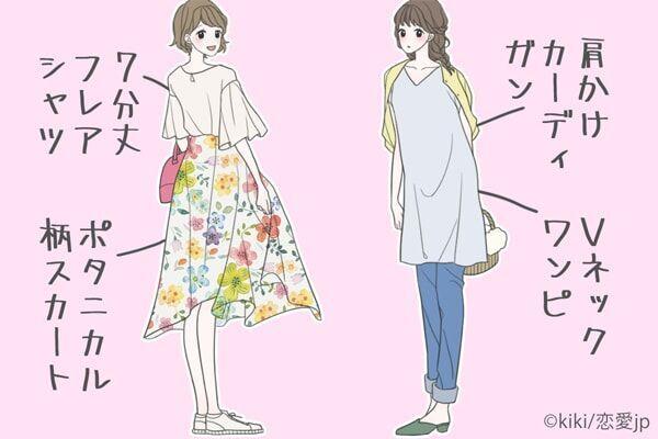 """""""出会いの春""""はコレで決まり!彼と心が近づく「恋ファッション」特集♡"""