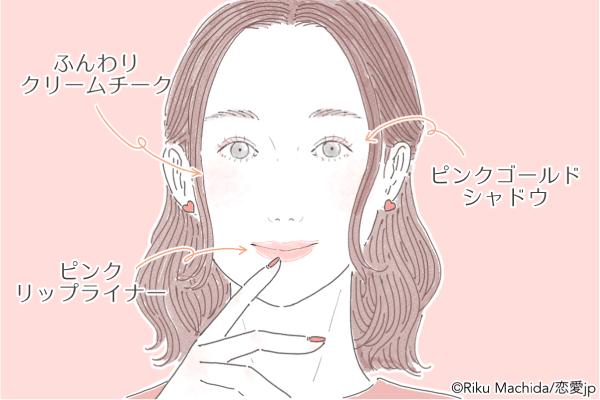素敵な彼がゲットできる♡恋を引き寄せる「春の恋メイク」を伝授!