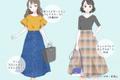 プチプラでスリム見せ♡GUで作る「着やせコーデ」4選
