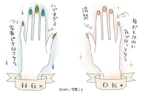 """【男に聞いた】女子の""""ネイル""""ってぶっちゃけどう思う?"""