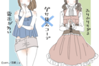 """どこの国の""""お姫様""""…?彼女にして欲しくない「ダサ見えコーデ」4選"""