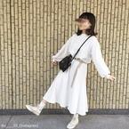 今可愛いのはワンカラー♡秋の「全身ホワイトコーデ」4選