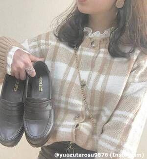 秋の人気アイテム♡旬な足元が作れる「ローファーコーデ」4つ