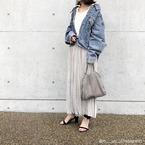 【秋冬定番♡】「プリーツスカート」で足元すっきりコーデ4つ