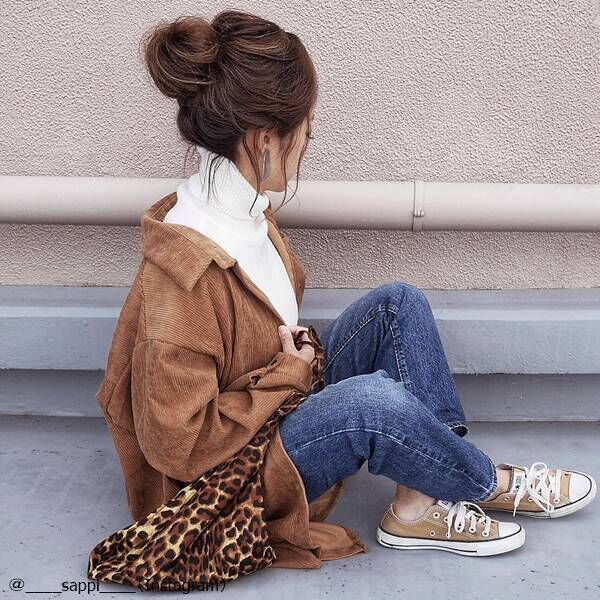 ヘビロテ間違いなし!色々な着こなしが楽しめる「シャツジャケットコーデ」