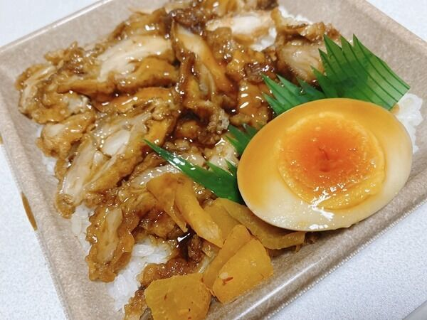 【セブン】鶏めしのかつおだし香るタレが食欲をそそる♡