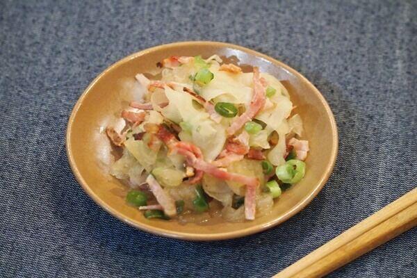 【サラダ】「大根とベーコンのさっぱりサラダ」いつもと違う大根レシピ!