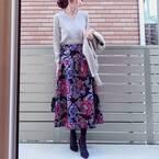 【ZARA】上品な雰囲気が溢れる♡人目を惹く「冬のスカートコーデ」4選