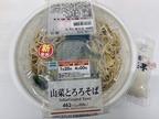 【ファミマ】「山菜とろろそば」は出汁が濃厚!