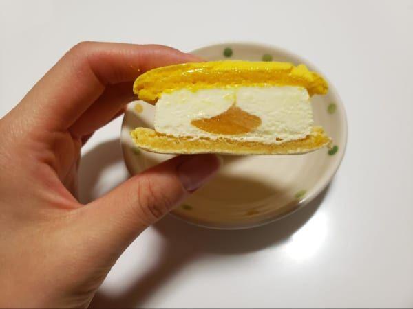 【セブンスイーツ】寒い日も食べたくなる♡クリームチーズマカロンアイス!
