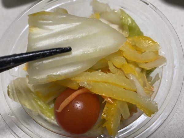 【セブン】絶品!「旬を味わうゆず風味白菜浅漬けサラダ」が素晴らしい件