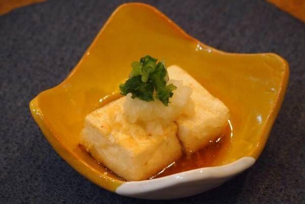 レンジを使って時短レシピ!ヘルシーで簡単♡揚げだし豆腐