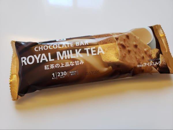 あの飲み物がアイスに!?【セブン】の「紅茶アイス」が想像以上のおいしさで感動♡