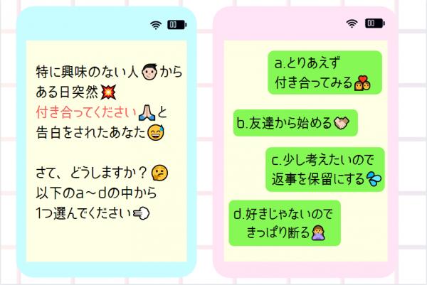 【心理テスト】あなたにピッタリ?!オトコを落とす♡ LINEキラーフレーズ!