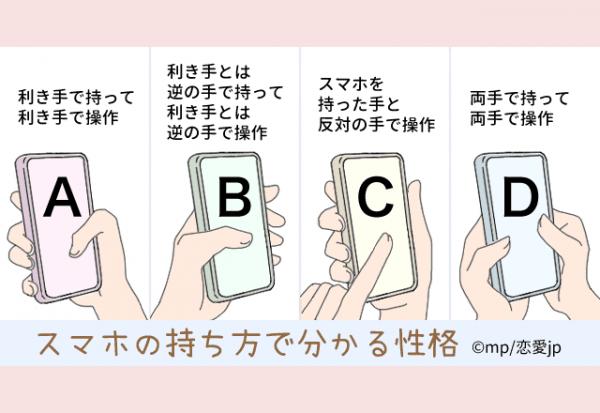 あなたはどのタイプ?【スマホの持ち方】で分かる性格テスト(2020年8月 ...