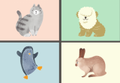 【恋愛心理テスト】あなたの好きな動物は?