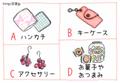 【恋愛心理テスト】「ヤキモチ焼き度」をチェック!気になる彼へのプレゼントにどれを選ぶ?