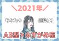 【星座×血液型】みずがめ座×B型の「2021年の運勢」