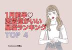 1月前半「恋愛運がいい星座」ランキング【TOP4】