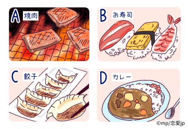 【恋愛心理テスト】好きな食べ物で分かるあなたの「執着度」