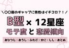 12星座×B型のモテ度と恋愛傾向<前編>