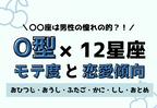 12星座×O型のモテ度と恋愛傾向<前編>
